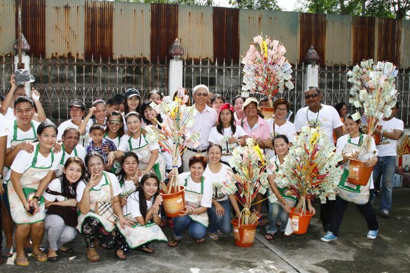 งานทอดกฐินสามัคคี บริษัทไทยเทพรสจำกัด(มหาชน) ครั้งที่ 1